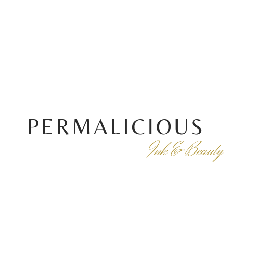 Permalicious Ink & Beauty New logo 17 Septmber 2019 PNG Transarent Background